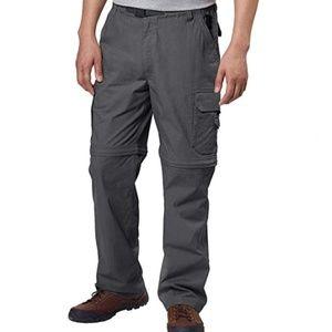 NEW BC Clothing Convertible  Cargo Pants or Shorts